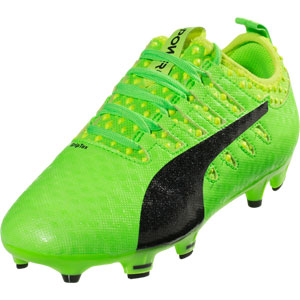 Puma EvoPower Vigor 1 FG JR - Green/Black 103967-01