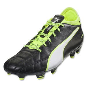 Puma EvoTouch 3 Leather FG - Black/White/Safety Yellow 103985-01