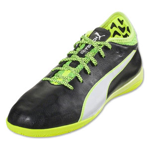 Puma EvoTouch 2 IT - Black/White/Safety Yellow Indoor 103694-01