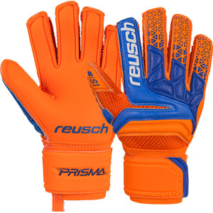 Reusch Prisma STF S1 Finger Support Glove - Shocking Orange/Blue 3870880