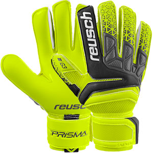 Reusch Prisma Prime G3 Finger Support Glove - Safety Yellow/Black 3870930
