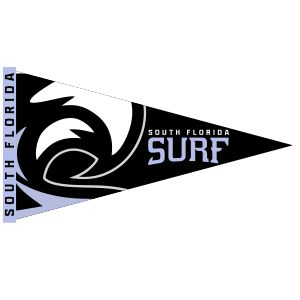 South Florida Surf Hanging Pennants SFSPennants