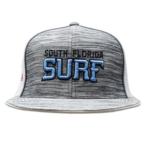 South Florida Surf Snapback - White/Grey SFSSnap