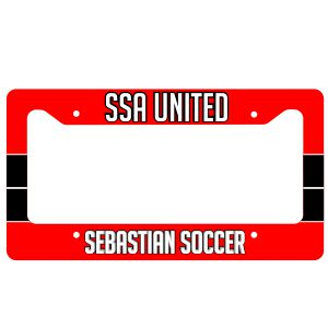 SSA United License Plate Frame SSALPFrame