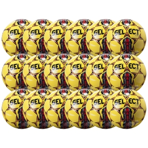 Select Club Ball - Yellow/Red 18 Pack 02-559-852-18Pck