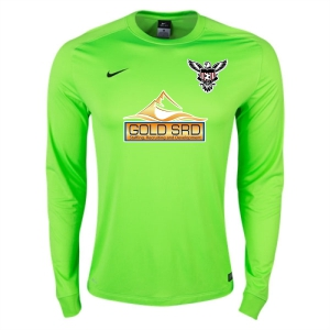 North Texas United FC Nike LS Park Goalie II Jersey - Neon Green TUFC-620898-303