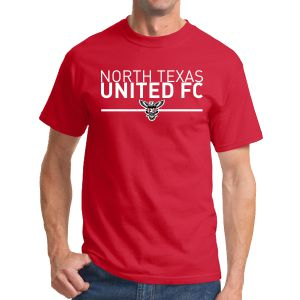 Texas United FC T-Shirt - Red G500RTU