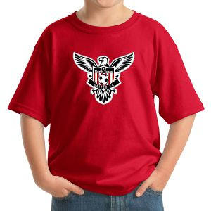 Texas United FC Youth Logo T-Shirt - Red 5000Rd