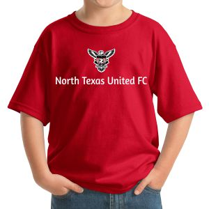 Texas United FC Youth T-Shirt - Red 5000Re