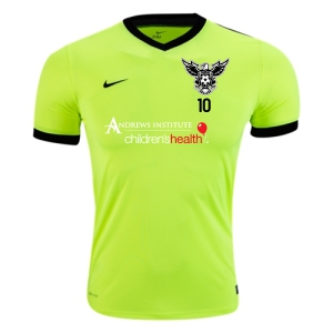 North Texas United FC Nike Youth Striker IV Training Jersey - Neon Green/Black 725981-702-NTUFC