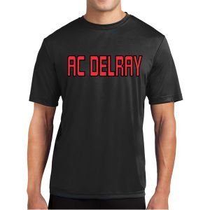 AC Delray Short Sleeve Performance Shirt - Black AC-ST350BLK