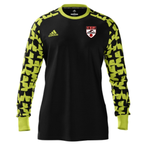 AC Delray adidas Mi Assita 17 Goalkeeper Jersey - Black/Yellow ACD-MIAD2US37945203