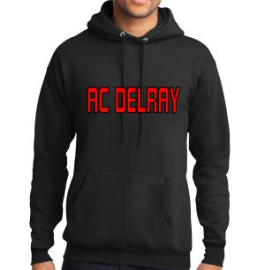 AC Delray Hooded Sweatshirt - Black AC-PC78HYBK