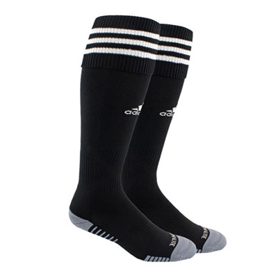 Boynton Knights FC adidas Copa Zone Cushion III Socks - Black/White BKN-5143266