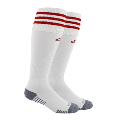 adidas Copa Zone Cushion III Socks - White/Red 5143280