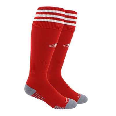 Boynton Knights FC adidas Copa Zone Cushion III Socks - Red/White BKN-5143283