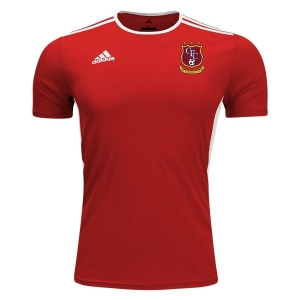 Clermont FC adidas Entrada 18 Jersey - Red/White CMFC-CF1038
