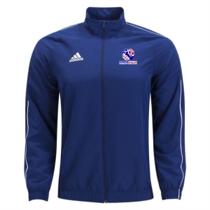 Power Soccer adidas Core 18 Jacket - Navy/White PSSOE-CV3684