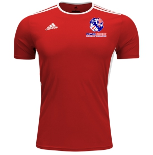 Power Soccer adidas Entrada 18 Jersey - Red/White PSSOE-CF1038