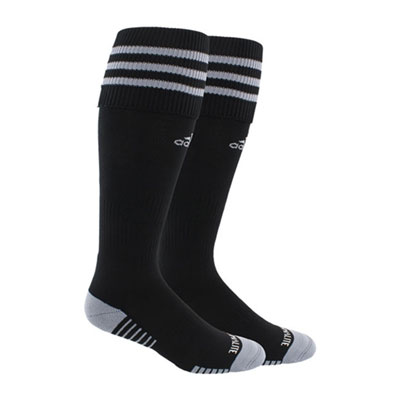 adidas Copa Zone Cushion III Socks - Black/Grey 5143265