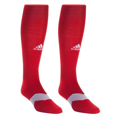 Hobe Sound Soccer Club adidas Metro IV Socks - Red/White 5137789-HS