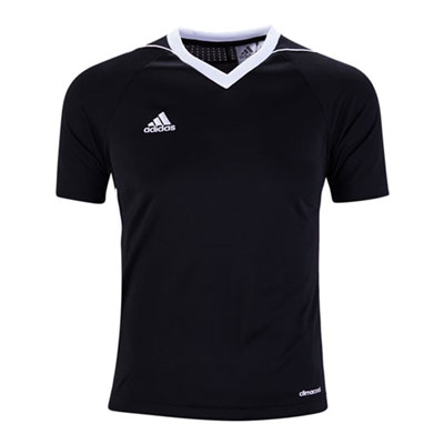 adidas Youth Tiro 17 Jersey - Black/White BJ9112