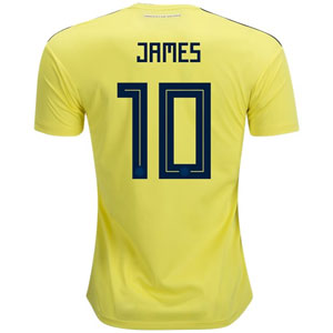 adidas James Colombia Home Jersey 2018 CW1526-Colombia