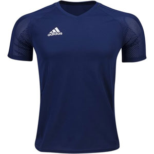 adidas Tiro 17 Training Jersey - Dark Blue/White BQ2815
