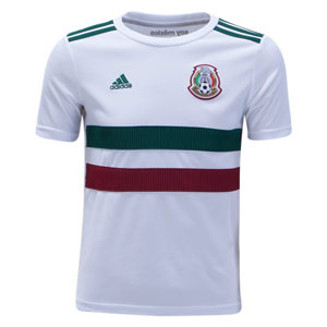 adidas Mexico Youth Away Jersey 2018 BQ4687
