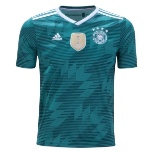 adidas Germany Youth Away Jersey 2018 BR3146