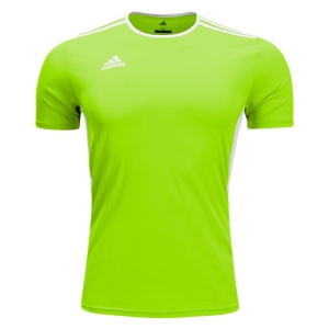 SSA United adidas Youth Entrada 18 Jersey - Solar Green/White SSA-CE9755