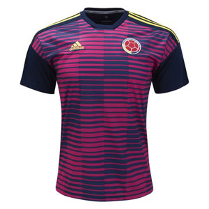 adidas Colombia Home Pre-Match Jersey 2018 CF1543
