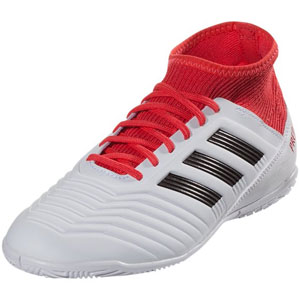adidas Junior Predator Tango 18.3 IN - Running White/Real Coral Indoor CP9073
