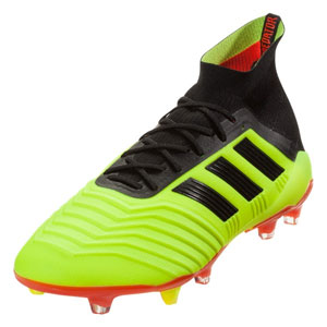 adidas Predators 18.1 FG - Solar Yellow/Core Black/Solar Red DB2037