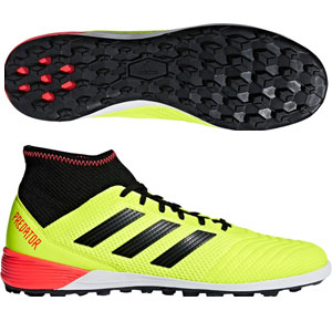 adidas Predator Tango 18.3 TF - Solar Yellow/Black Turf DB2134