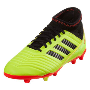 adidas Junior Predators 18.3 FG - Solar Yellow/Core Black DB2319