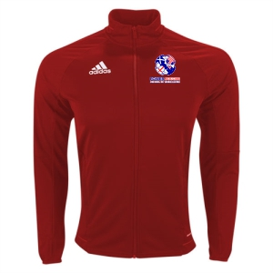 Power Soccer adidas Youth Tiro 17 Training Jacket - Red/White PSSOE-BR2704