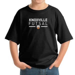 Knoxville Futsal Youth T-Shirt - Black KNX-5000B