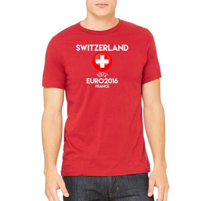 UEFA Euro 2016 Switzerland T-Shirt EURO2016TSWS