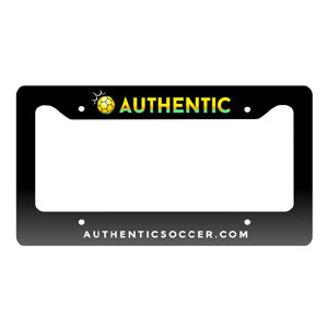 Authentic Soccer License Plate Frame AU-LPFrame