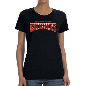 Boynton Knights Women's T- Shirt - Black G5000L-Bk