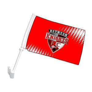 Boynton Knights Custom Car Flag CarFlag-BK