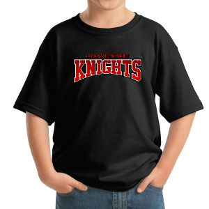 Boynton Knights Youth T-Shirt - Black 5000B-BK