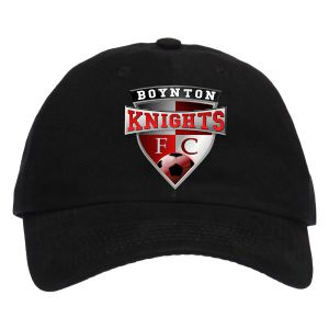 Boynton Knights Custom Hat - Black C913-BK