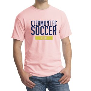 Clermont FC T-Shirt - Light Pink G500LPink