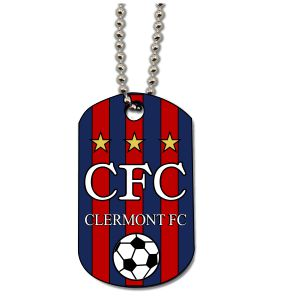 Clermont FC Custom Dog Tag DogTagCFC