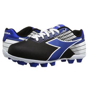 Diadora Kids Ladro MD JR - Black/Blue/White 716616-814