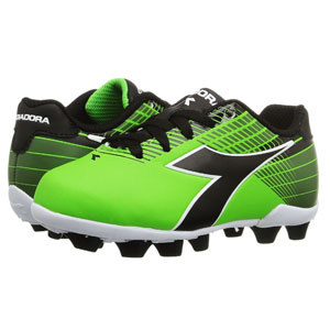 Diadora Kids Ladro MD JR - Lime/Black 716616-8495