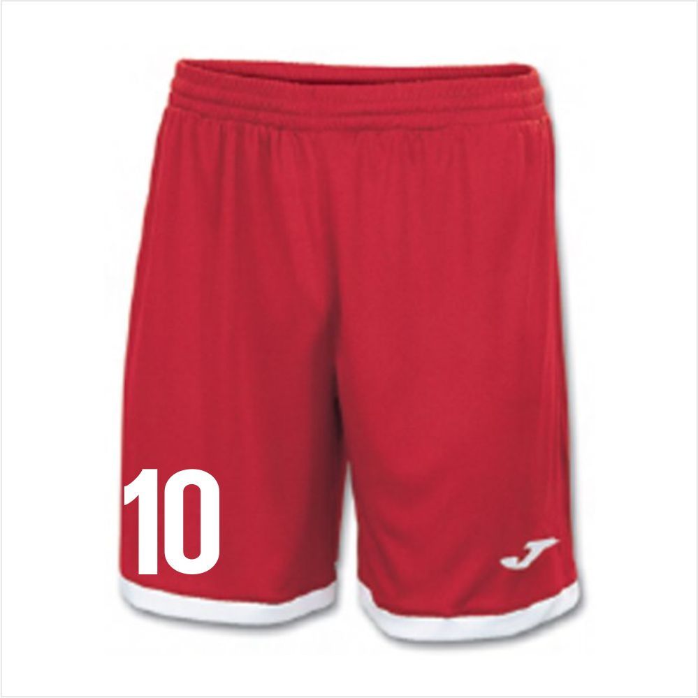Boynton Knights Joma Toledo Short - Red/White ToldShRD15