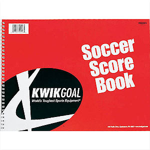 Lee County Strikers Kwik Goal Oversized Soccer Score Book 20B901-LCS